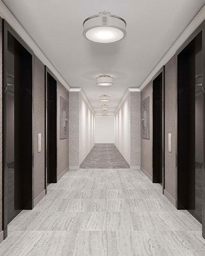 17-85-215th-Street-Bayside-NY-Americana-Hallway-Interior-Design-Scheme